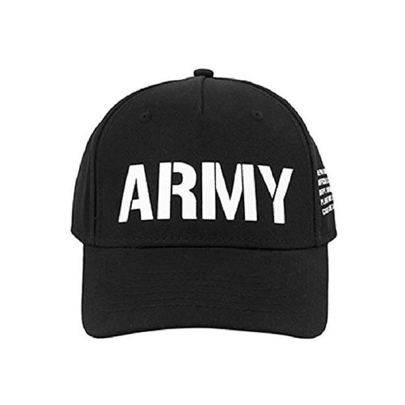 Čepice Army Cap Alpha Industries Black