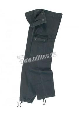 BW kalhoty Moleskin předeprané černé 0-15
