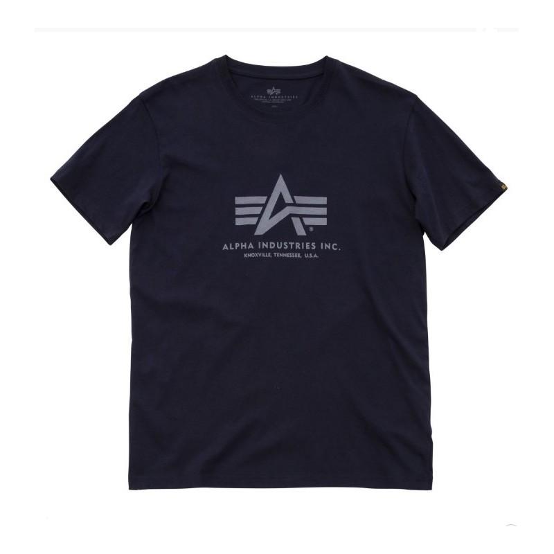 Tričko BASIC T Alpha Industries, REPL.BLUE