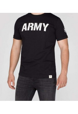 Tričko ARMY T Alpha Industries BLACK