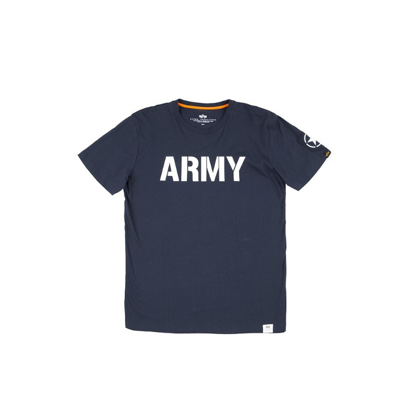 Tričko ARMY T Alpha Industries REPL.BLUE