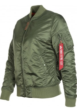 Bunda MA-1 VF 59 Wmn Alpha Industries Sage green