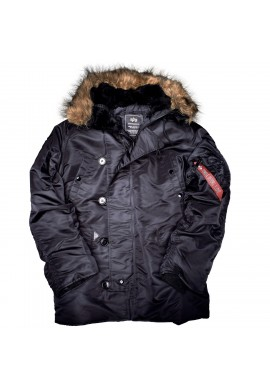 Bunda N3B Alpha Industries BLACK