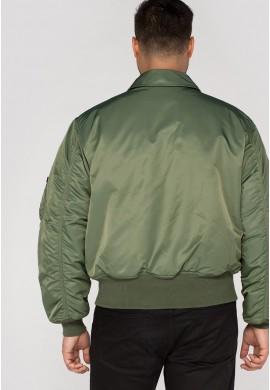 Bunda CWU 45 Alpha Industries sage green