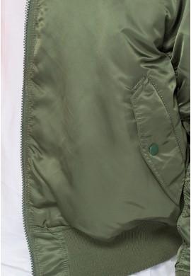 Bunda MA-1 Alpha Industries sage green