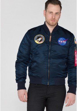 Bunda MA-1 VF NASA Alpha Industries REPL.BLUE