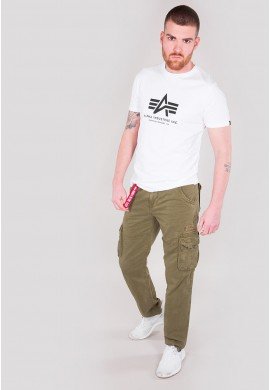 Kalhoty JET PANT Alpha Industries, OLIVE