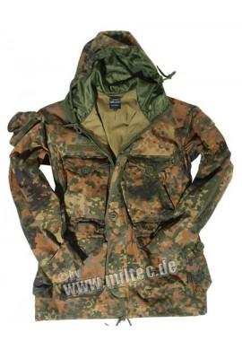 MIL-TEC Commando bunda lehká Flecktarn S-3XL
