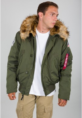 Bunda POLAR JACKET SV Alpha Industries DARK GREEN