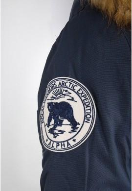 Dámská bunda POLAR JACKET Wmn. Alpha Indst. REPL.BLUE