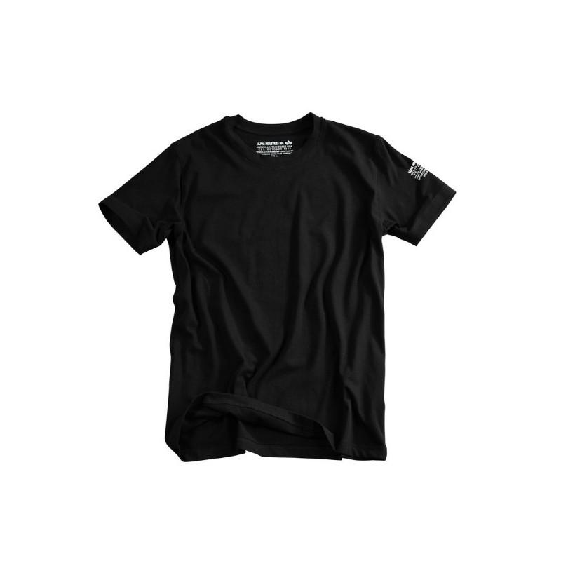 Tričko BODYWEAR Alpha Industries BLACK