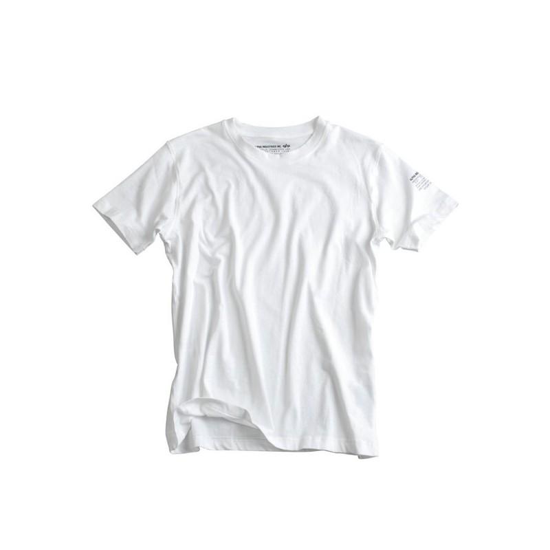 Tričko BODYWEAR Alpha Industries WHITE