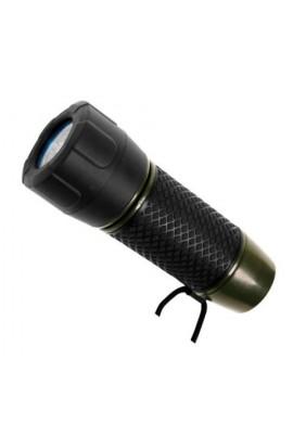 Štábní baterka 6 LED(4AAA) OLIVE