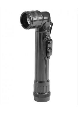 US baterka koleno velká (2D) LED ČERNÁ