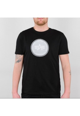 Tričko HOLOGRAM T Alpha Industries BLACK