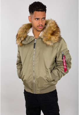 bunda MA-1 Hooded Arctic Alpha Industries Stratos
