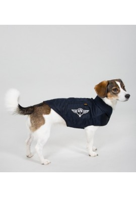 Dog MA-1 Nylon Flight Jacket Repl.blue