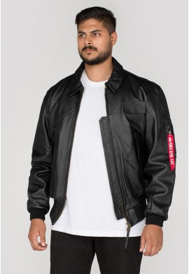 Kožená bunda CWU Leather, Alpha Industries