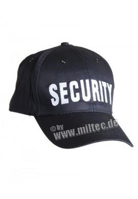 BASEBALL čepice černá SECURITY
