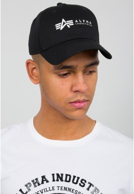 Čepice ALPHA CAP Alpha Industries BLACK