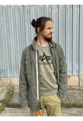 bunda Revival Decorated Alpha Industries M-65 olive