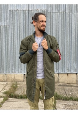 Bunda BATTLE COAT TEFLON Alpha Industries DARK GREEN