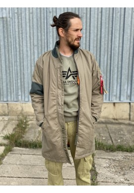 Bunda BATTLE COAT TEFLON Alpha Industries OLIVE