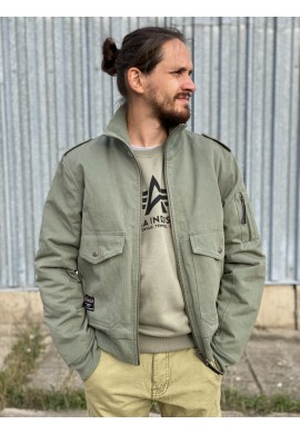Bunda INSTRUCTOR Alpha Industries OLIVE
