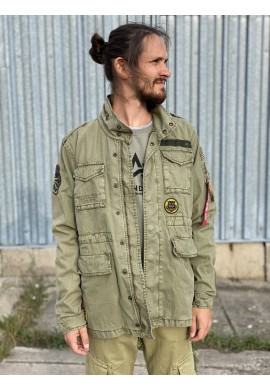 Huntigton Patch Alpha Industries Olive