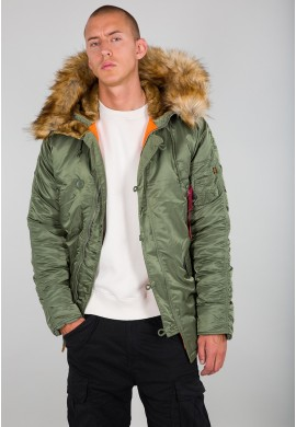 Bunda N3B VF 59 Alpha Industries Sage green