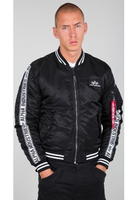 Bunda MA-1 All Tape Alpha Industries Black