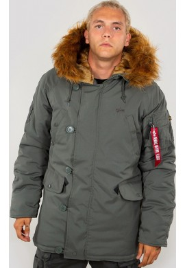 Bunda Explorer Alpha Industries Vintage green