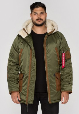 Bunda N3-B3 Alpha Industries Dark green