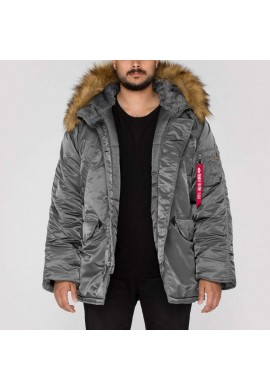 Bunda N3B Alpha Industries Gun metal