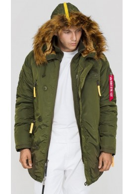 Bunda PPS N3B Alpha Industries Dark green