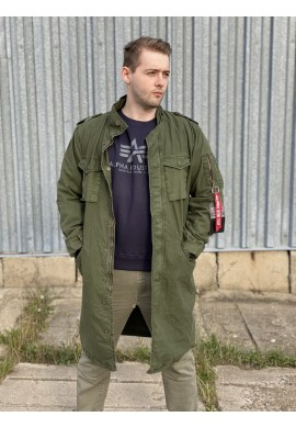 Kabát M-65 LW Alpha Industries Dark green