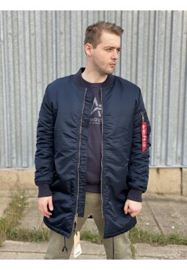 Kabát MA-1 COAT Alpha Industries Repl. blue