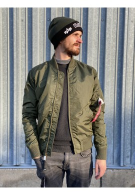Bunda MA-1 TT Alpha Industries Dark green
