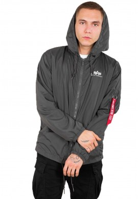 Windbreaker_greyblack_Alpha Industries