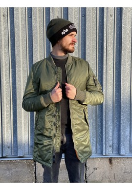 Kabát MA-1 COAT Alpha Industries Sage green