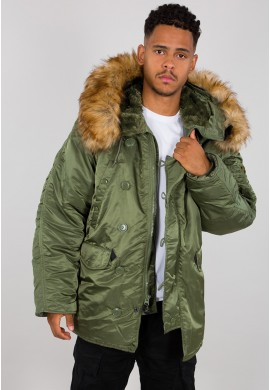 Bunda N3B Alpha Industries SAGE GREEN