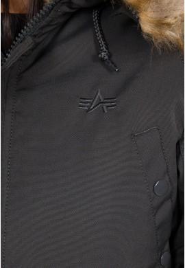 Dámská bunda EXPLORER Wmn. Alpha Industrie Black