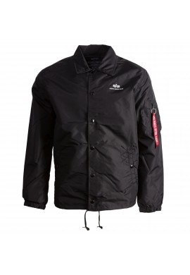 Bunda COACH JACKET TT Alpha Industries BLACK