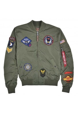 Bunda MA-1 TT PATCH II Alpha Industries SAGE GREEN