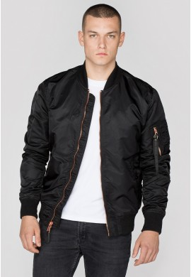 Bunda MA-1 VF LW Alpha Industries BLACK/COOPER