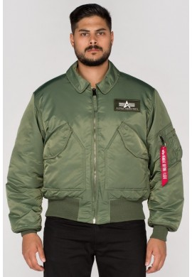 Bunda CWU 45 Alpha Industries SAGE GREEN