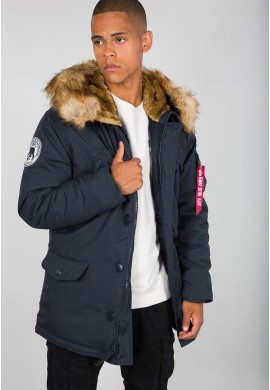 Bunda POLAR JACKET Alpha Industries REPL.BLUE