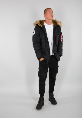 Bunda POLAR JACKET Alpha Industries BLACK