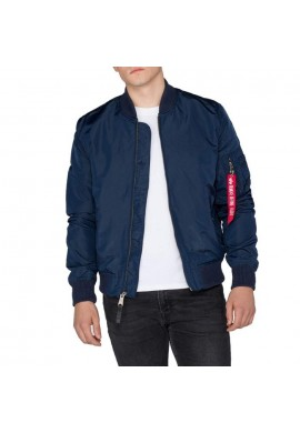Bunda MA-1 TT  Alpha Industries REPL.BLUE