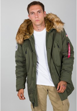 Bunda POLAR JACKET Alpha Industries DARK GREEN
